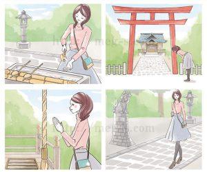 開運日本の神社と御朱印(英和出版社)